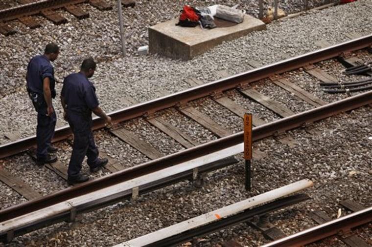 DC Metro Train Derailment