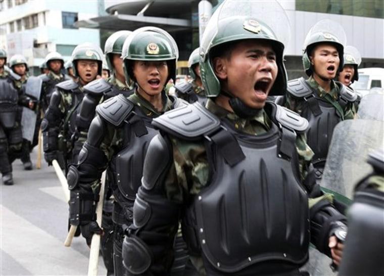 APTOPIX China Protest