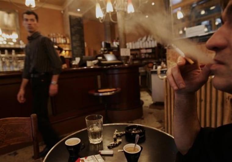 FRANCE SMOKING BAN