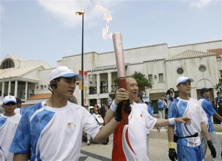 Macau Olympic Torch