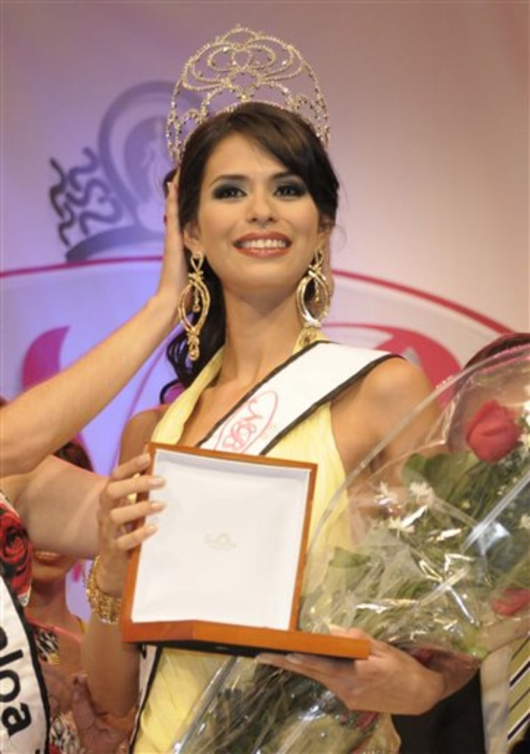 Mexico Beauty Queen Arrested