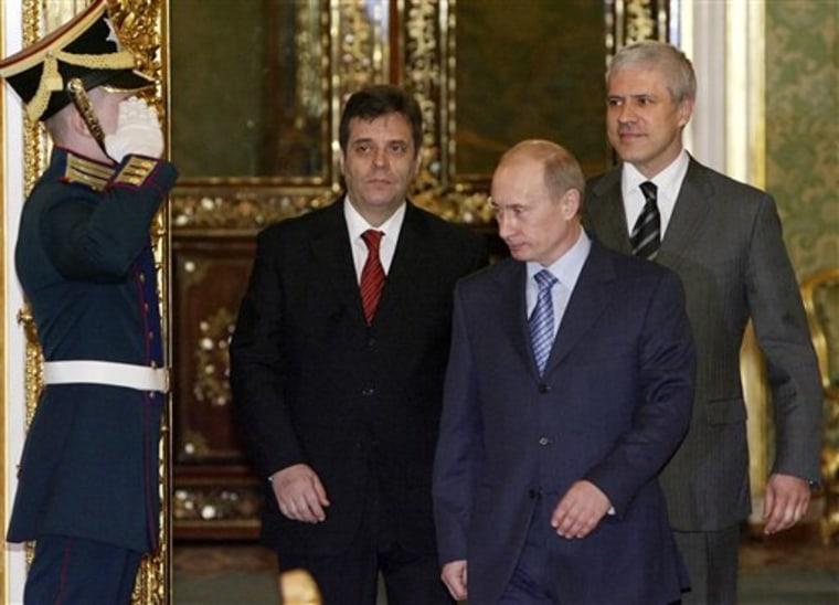 RUSSIA SERBIA