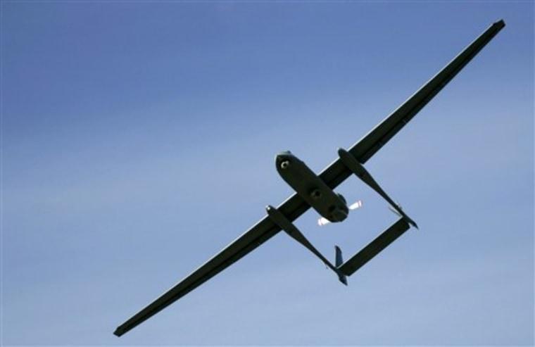 Mideast Israel Germany Drone
