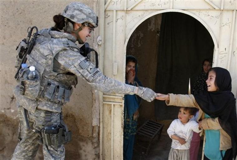 APTOPIX Afghanistan Military Police