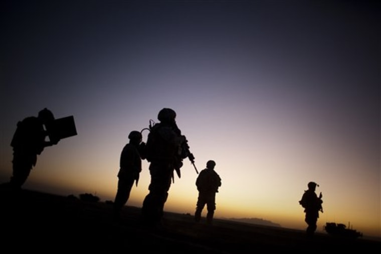 CORRECTION APTOPIX Afghanistan Election US Forces