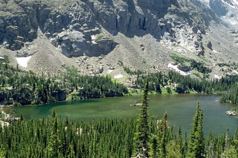 Rocky Mountain Park Pollution