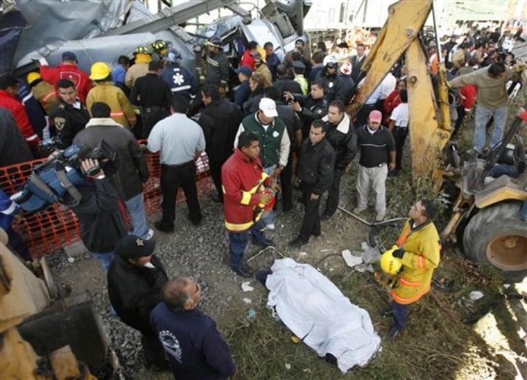 Mexico Bus Crash