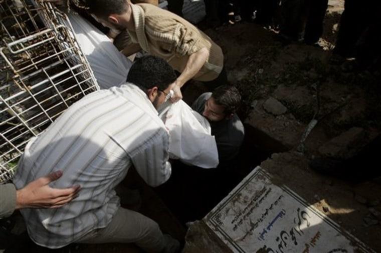 Mideast Israel Palestinians The Dead