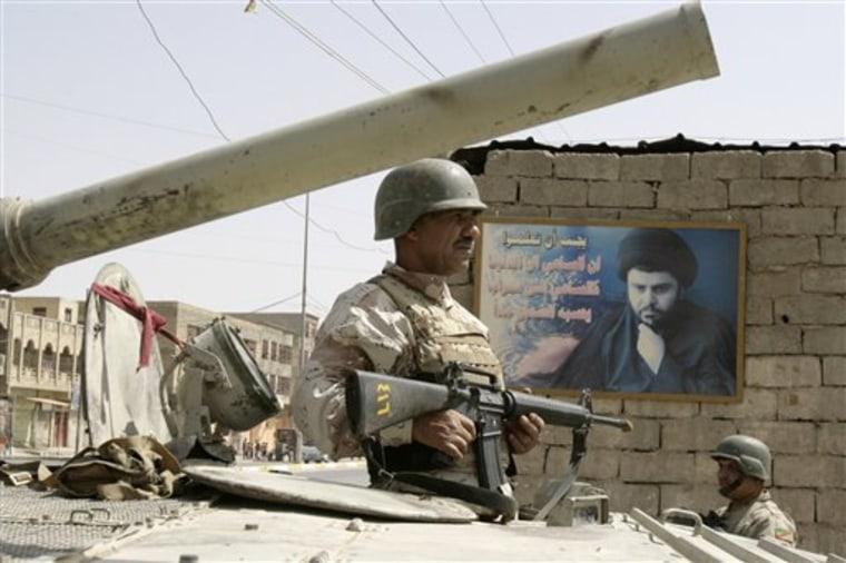 Iraq Sadrist Dissent