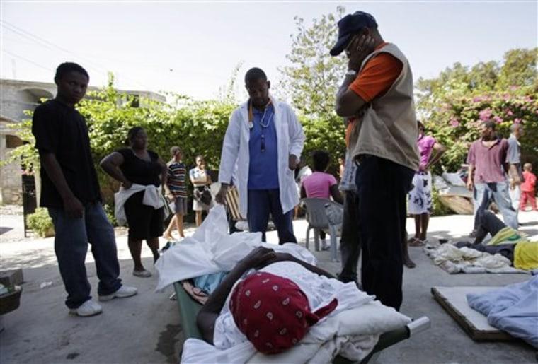 Haiti One Man Hospital