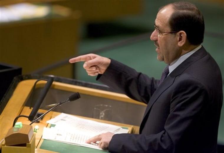 UN General Assembly Iraq