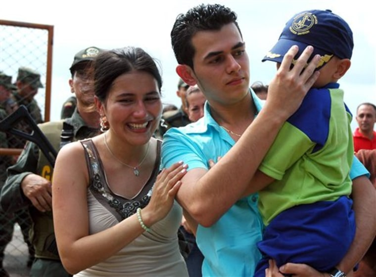 Colombia Child  Returned