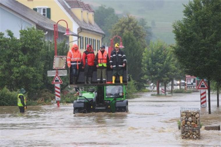 Austria Floods