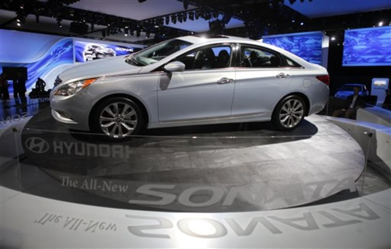 Auto Show Hyundai Sonata