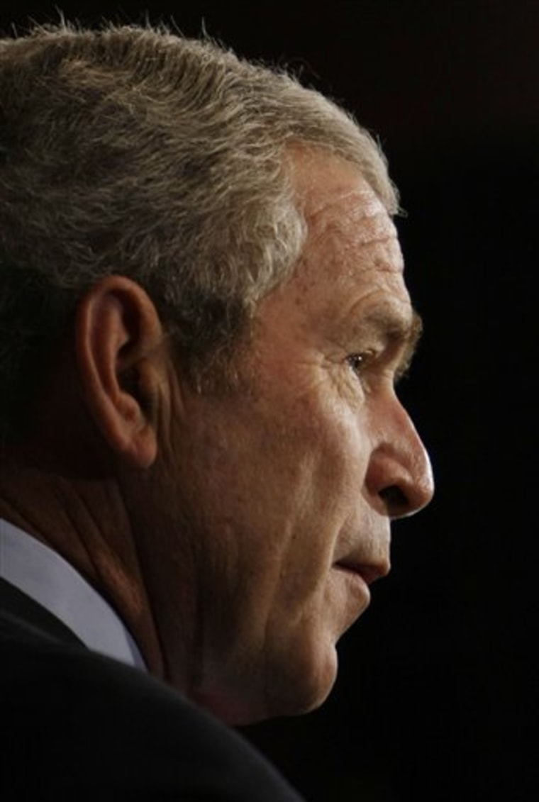 President Bush's budget would see increases in military and homeland security.