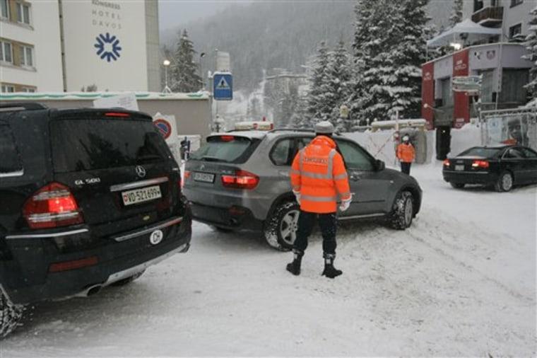 SWITZERLAND WORLD ECONOMIC FORUM CARBON FOOTPRINT