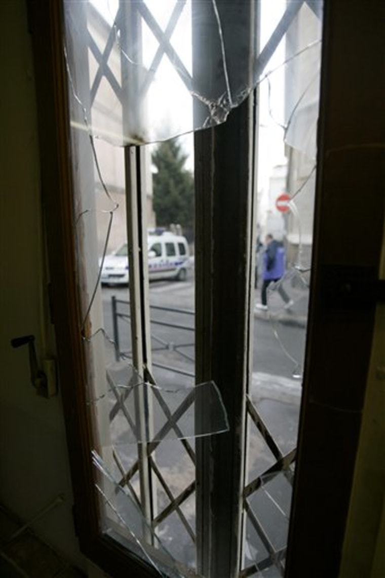 FRANCE-SYNAGOGUE ATTACKED