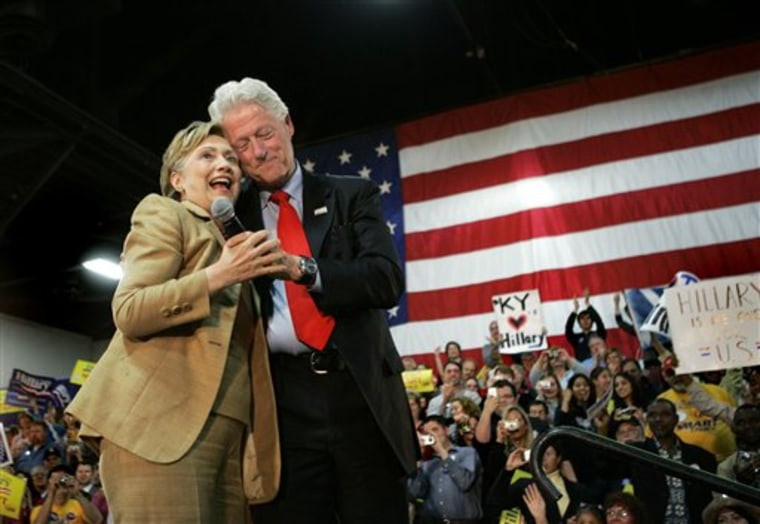 Clintons End of an Era