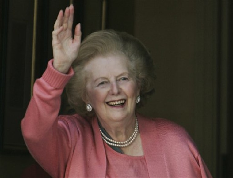 BRITAIN MARGARET THATCHER