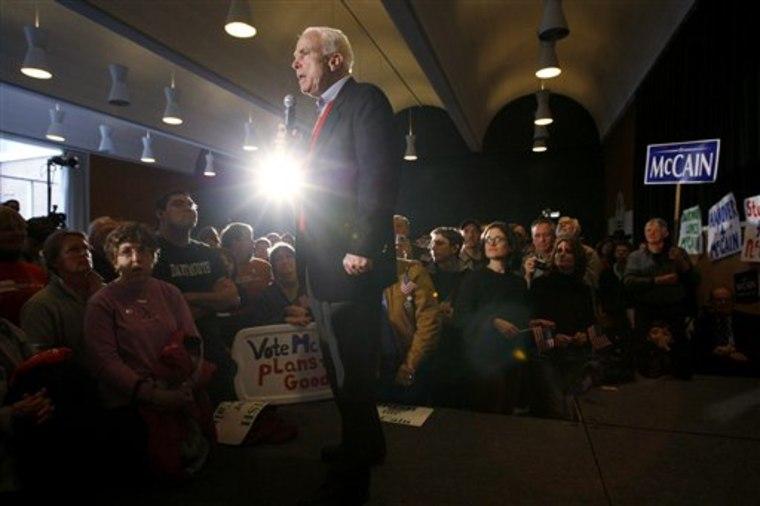 McCain 2008 New Hampshire