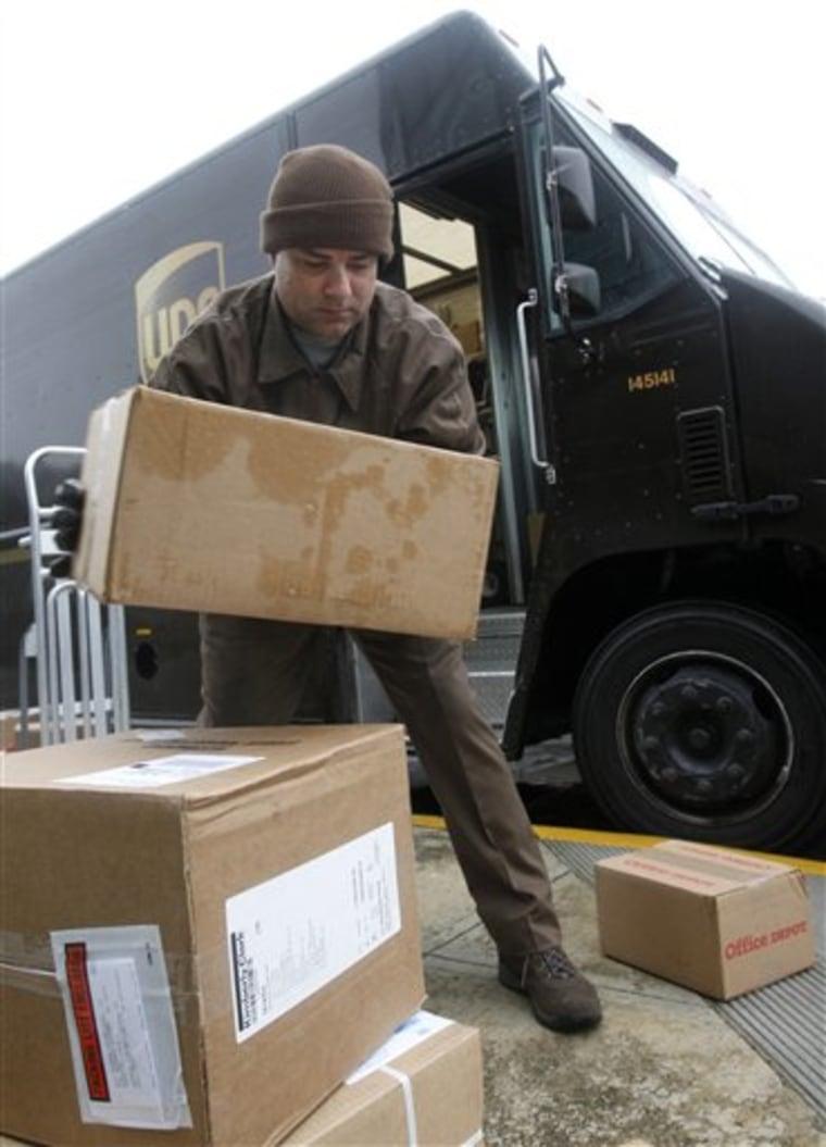 Holiday Hiring FedEx UPS