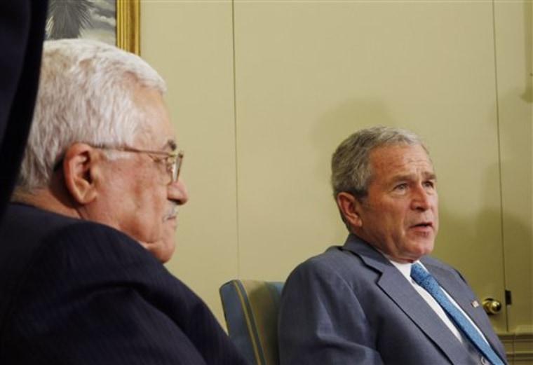 Bush US Mideast