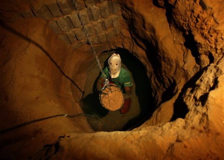 Mideast Egypt Gaza Tunnel Troubles