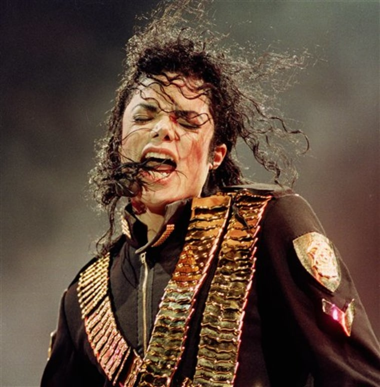 APTOPIX People Michael Jackson