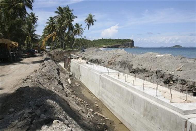 Caribbean Disappearing Beaches