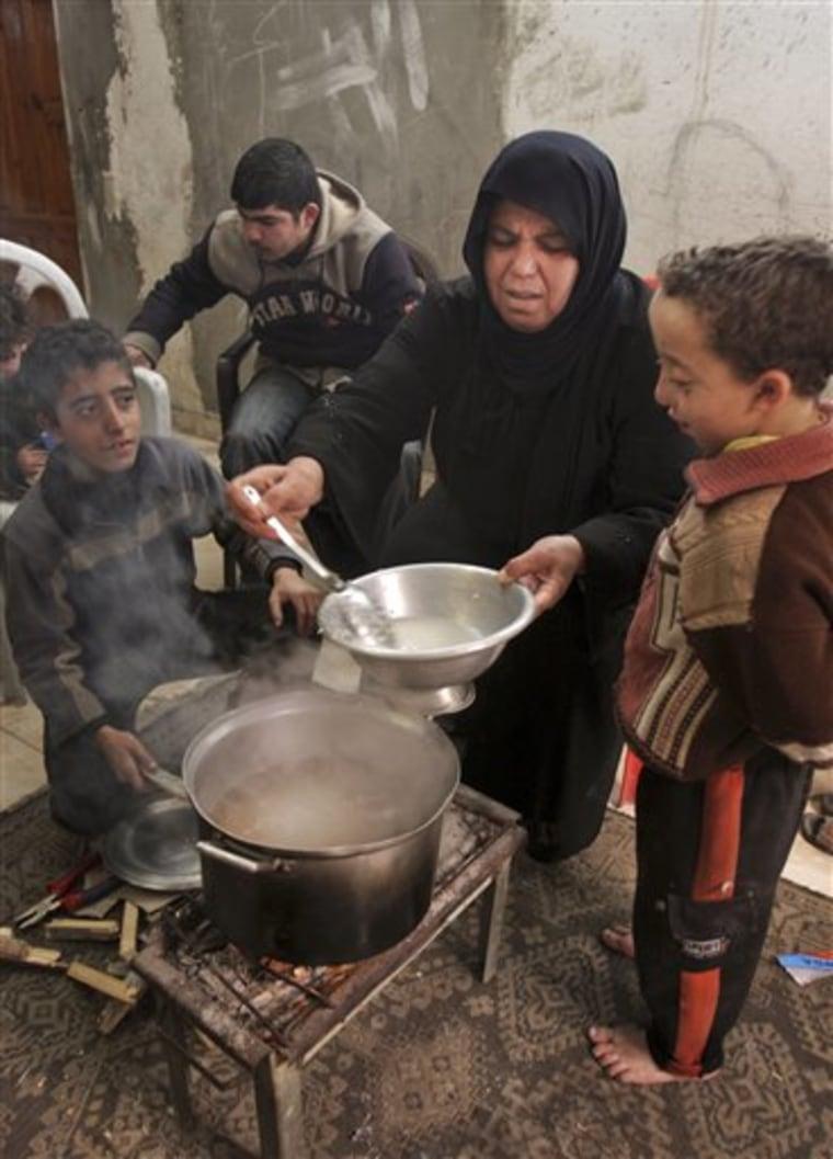 Mideast Israel Palestinians Surviving War