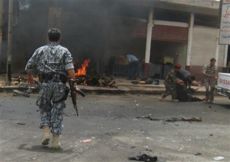 IRAQ BOMBING