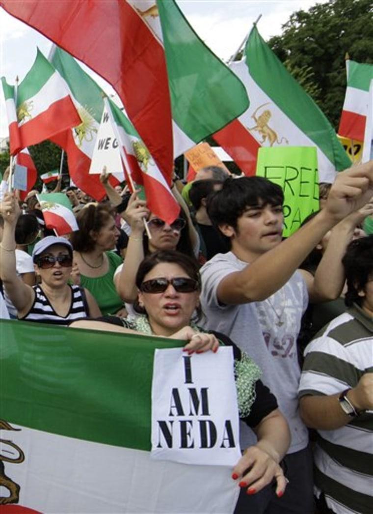 Mideast Iran Election Icon
