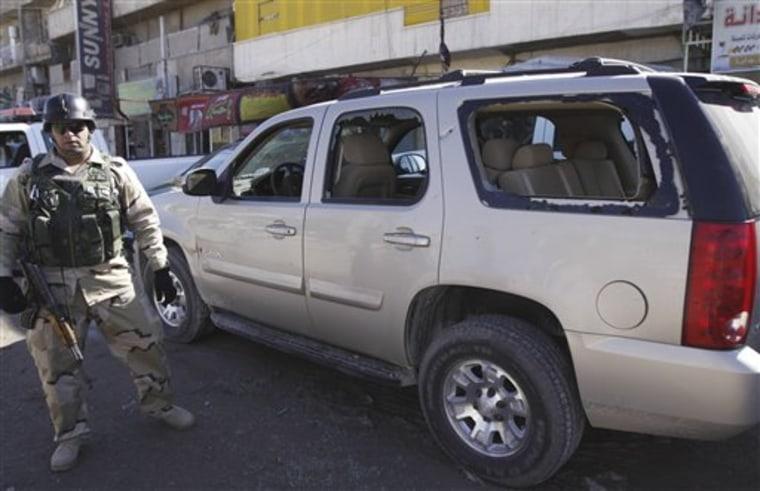 Iraq Candidate Attacked
