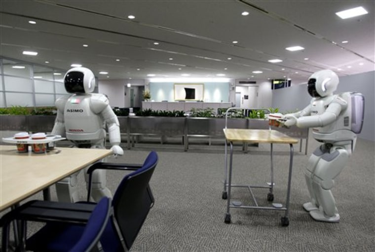 Japan Honda Robot Pair