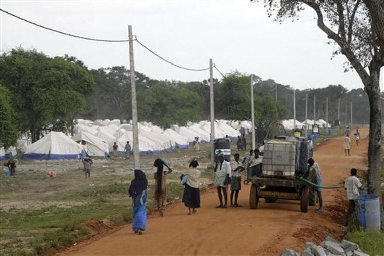 Sri Lanka Internment Camps