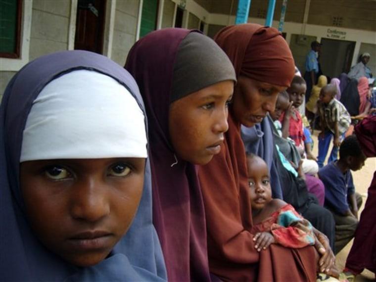APTOPIX KENYA SOMALI REFUGEES