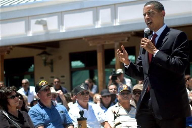 Obama 2008 Memorial Day