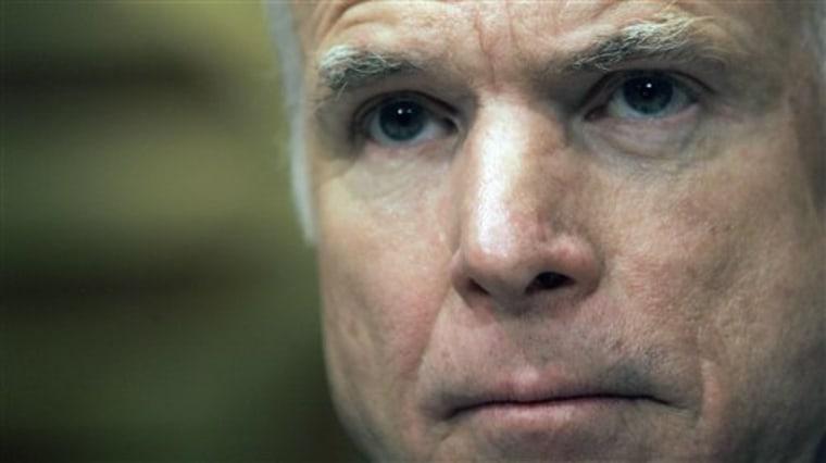 Aptopix US Iraq McCain 2008