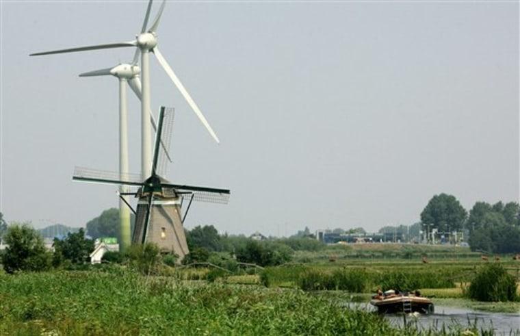NETHERLANDS OFFSHORE WINDMILLS