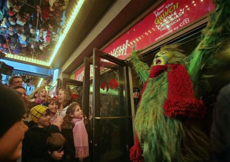 Broadway Labor Grinch