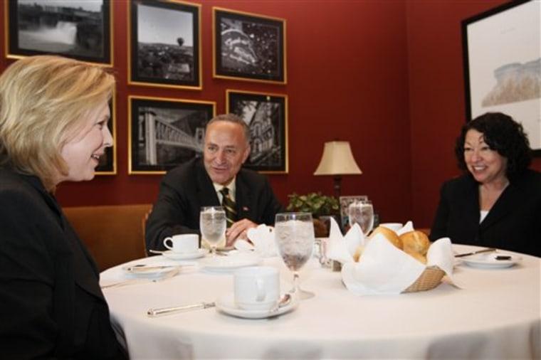 Sotomayor's Job Interview