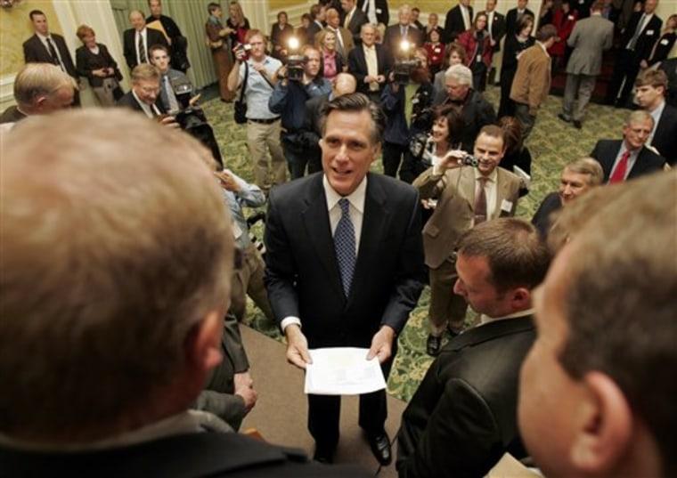Romney Mormons