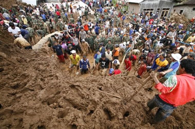 Indonesia Landslides