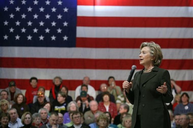 Clinton 2008 Iowa