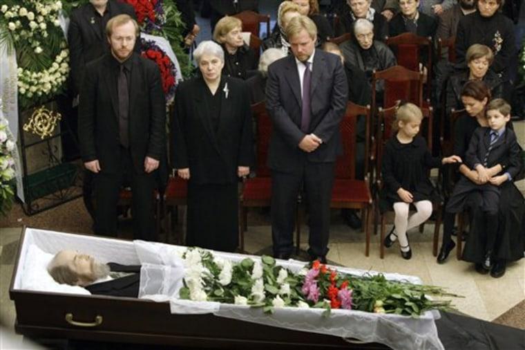 Russia Solzhenitsyn