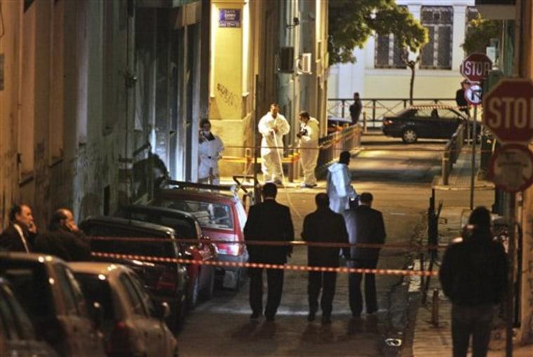 Greece Police Shooting