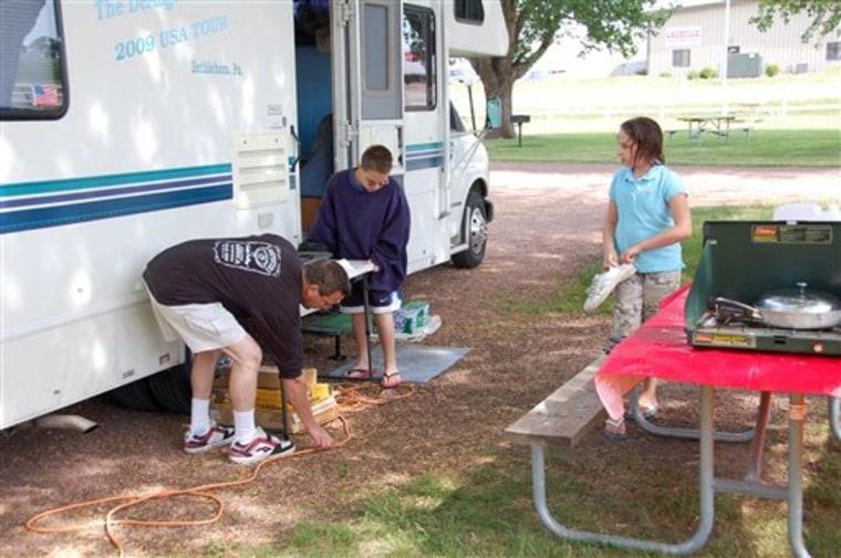 Digital TV Transition Campers