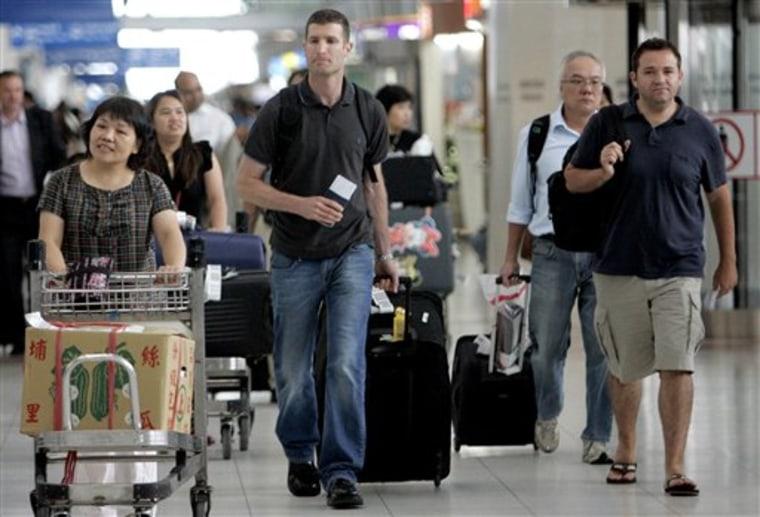Thailand Airport Scam