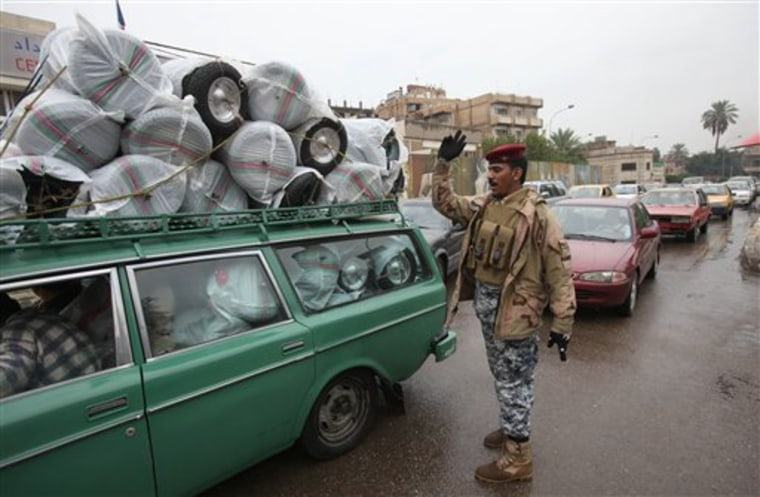 Iraq Security Elections