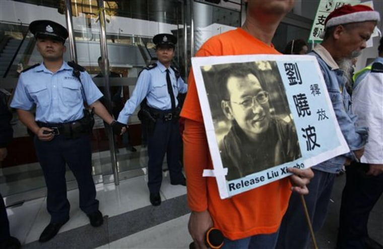 China Dissident Sentence